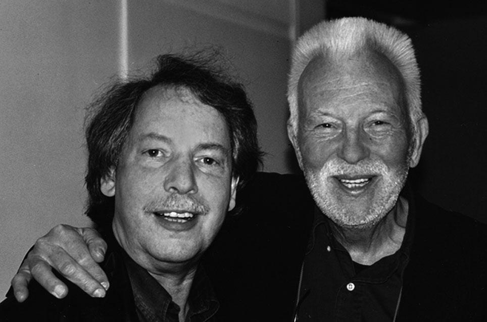 Dietmar Bührer mit Robert Lebeck